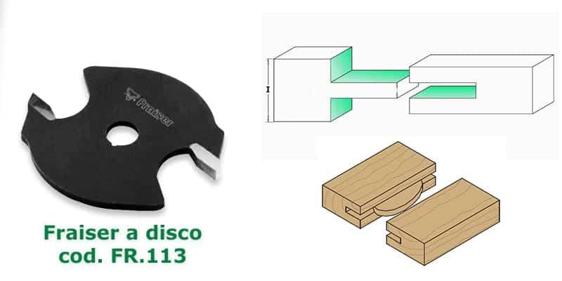 Fresa a disco Fraiser Tools