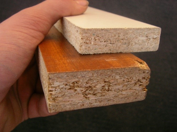 immagine di due legni truciolari