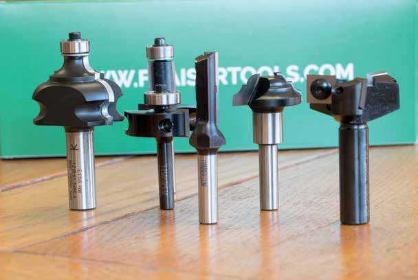 frese per legno Fraiser Tools