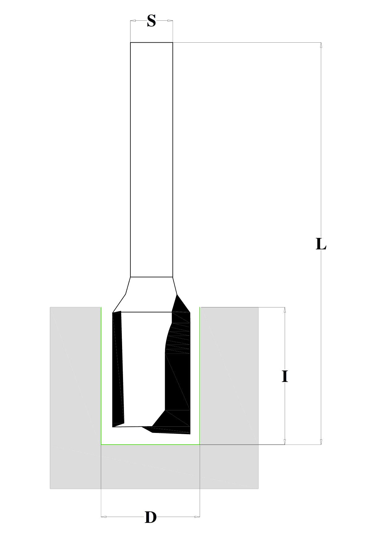 disegno di una fresa per pantografo